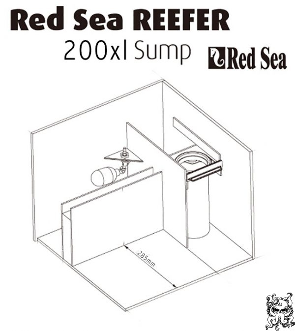 Magnetic Sump Baffle Kit Red Sea