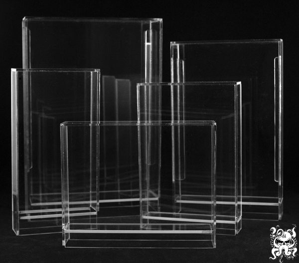 Custom Acrylic Display Cases Toys Figures Video Games Collectibles