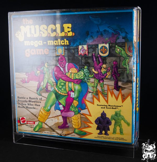 MUSCLE Toy Display Case