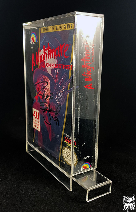 NES Nintendo Video Game Acrylic Display Case Box