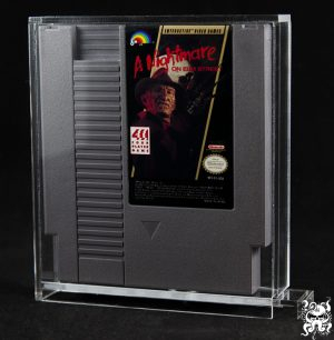 NES Nintendo Video Game Acrylic Display Case Box CART ONLY