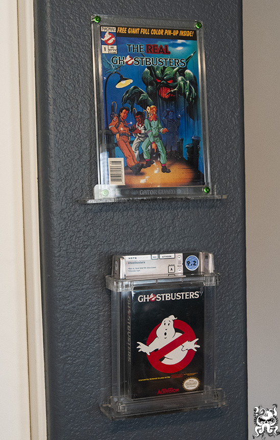 Video Game Acrylic Slab Display Stand Wall Mount Graded