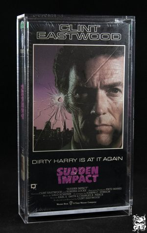 VHS Video Tape Acrylic Display Case Box Disney Clamshell