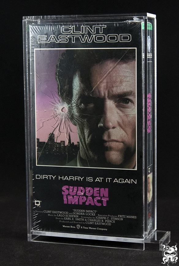 VHS Video Tape Acrylic Display Case Box
